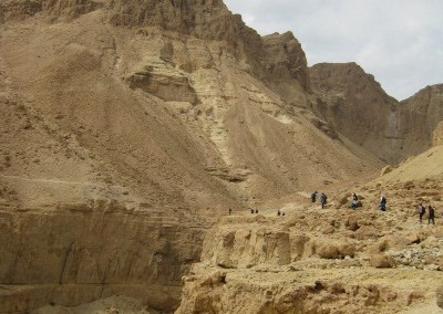 A hike up the mountains of Ein Gedi